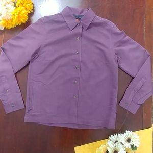 Merrel Button Up Down Single Zipper Shirt